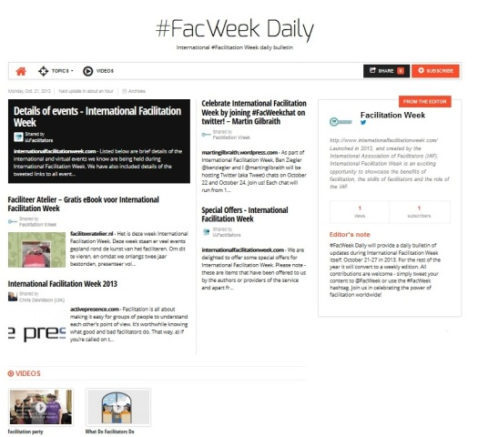 #FacWeek daily