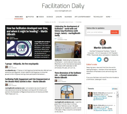 Facilitation Daily