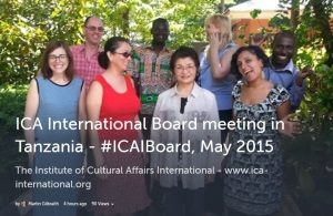 Raising our ambition – a face-to-face meeting of the virtual ICAI Board